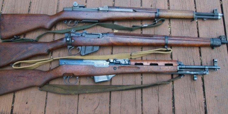 3 Milsurp Rifles: M1 Garand