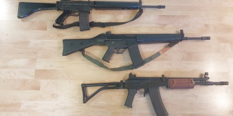With pre-WWII pistols and