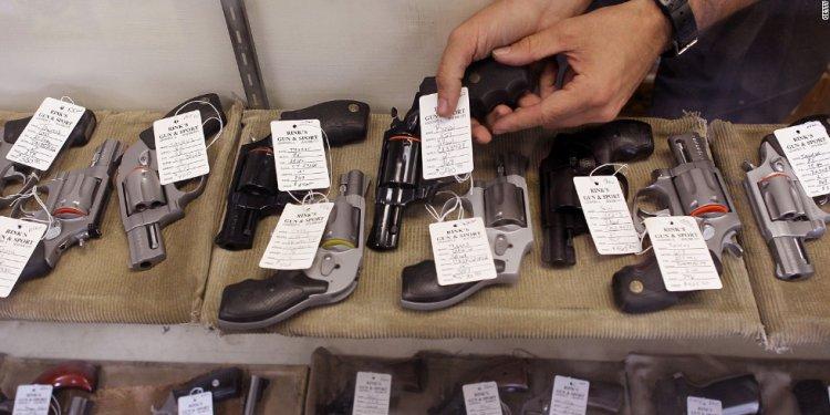 A CNN analysis shows fewer gun