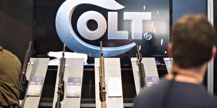 Bankrupt Colt Gun Company Had