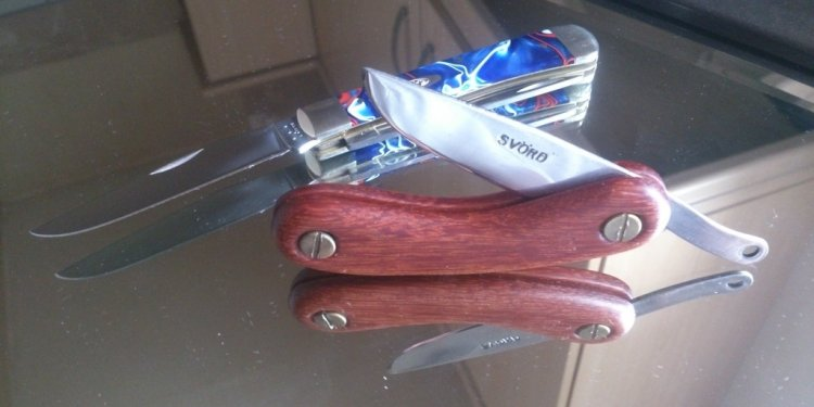 All Round Pocket Knife for