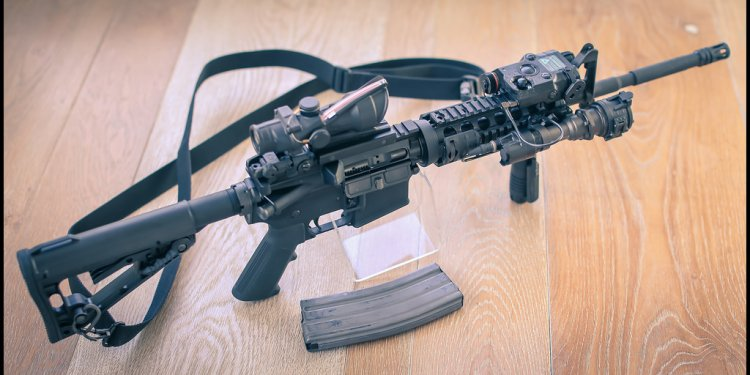 Colt M4 US Rifle by SoloDallas