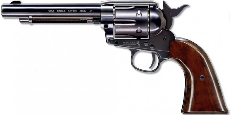 Blued Colt 45 Peacemaker co2