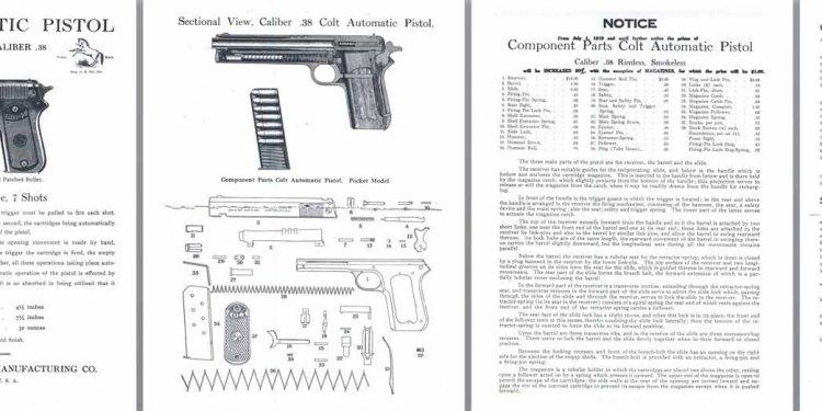 Colt M1902 .38 Pocket