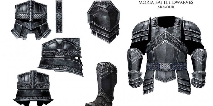 Dwarven Weapons and Armour