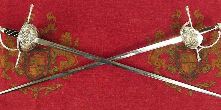 Rapiers swords from Spain