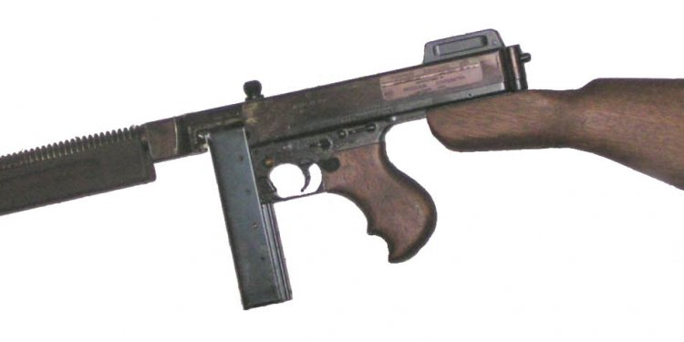 Guns, Thompson submachine gun