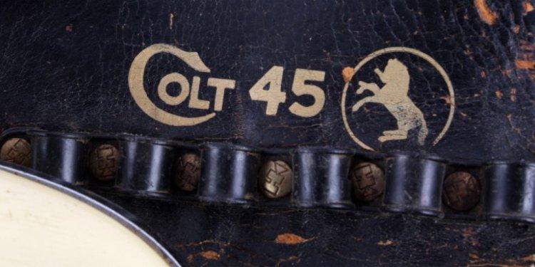 9 : Hubley Colt .45 Cap