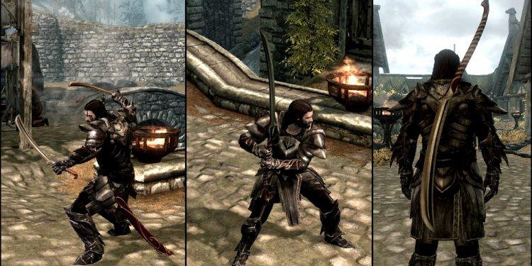 LOTR Elven Warswords at Skyrim