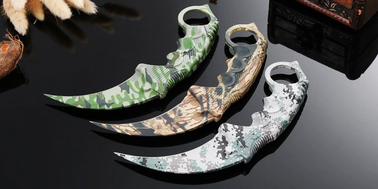 Claw hunting knives