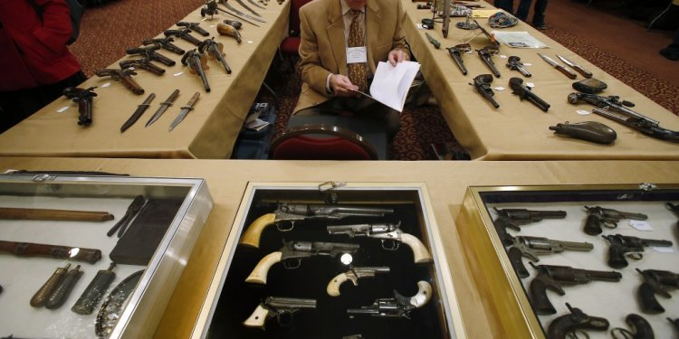 Antique gun collector Dave