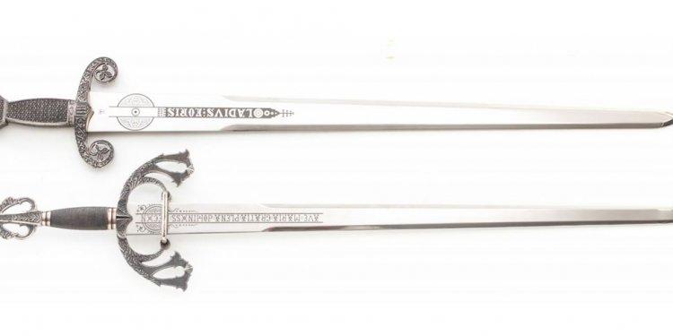 Copies of Spanish Swords