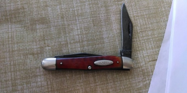 Pocket worn knife that was