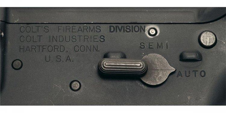 Rare Original Colt M16A1 Class