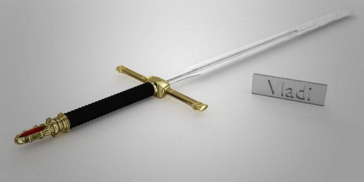 Real golden sword golden sword