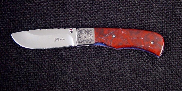 Liner lock folding knife: