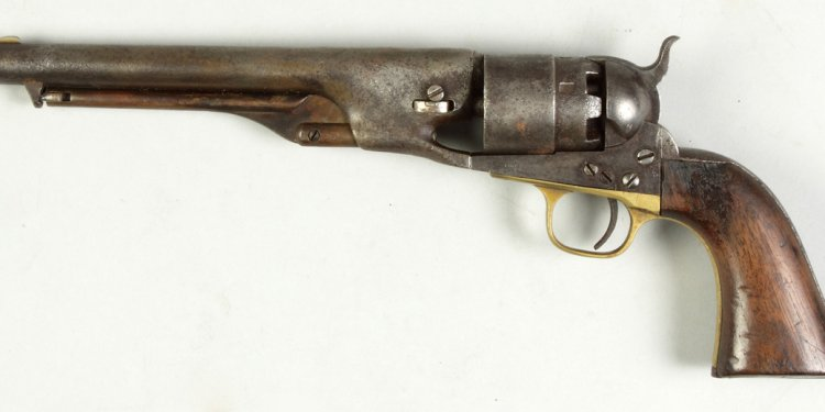 Samuel Colts NY, US Revolver