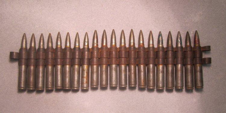 Twenty WWII Machine gun