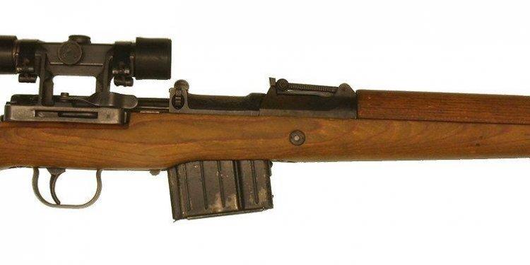Gewehr-43 a semi-automatic