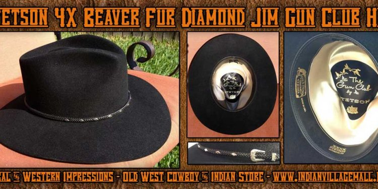 Stetson 4X Beaver Diamond Jim