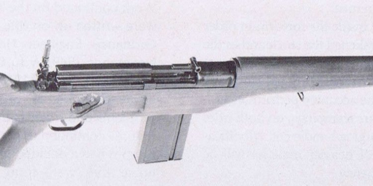 Late version of the T28 rifle