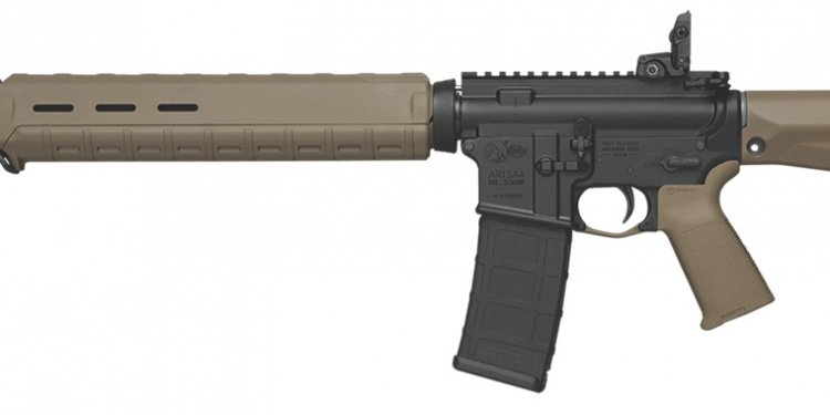 Colt AR-15 with Magpul FDE