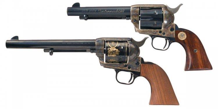 Colt Revolvers -A) Colt