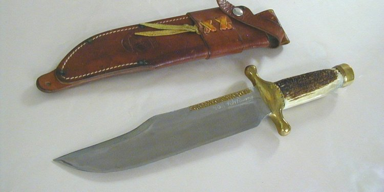 BACK BOWIE KNIFE #40A