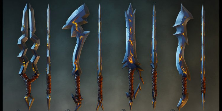Swords weapons Mobile Games by