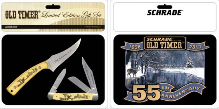 Schrade Collectible Knives