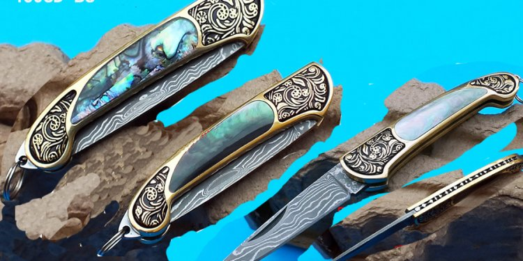 Case Damascus Knives