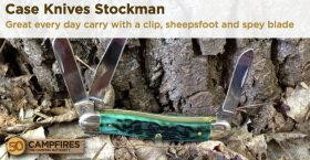 case knives stockman