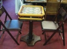 Franlin Mint deluxe Scrabble table