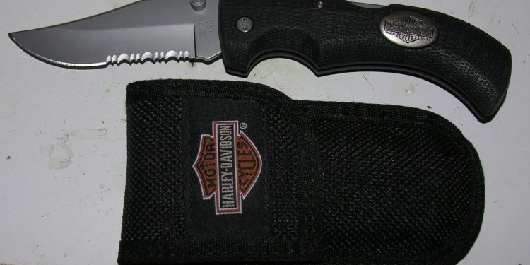 Harley Davidson Folding Knife