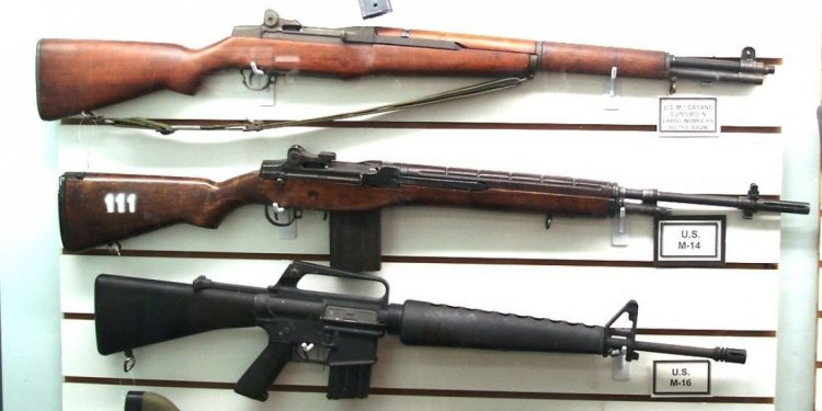 Historic rifles