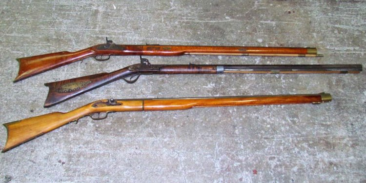 Antique rifles