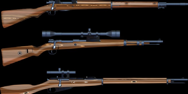 World War 2 Sniper rifles