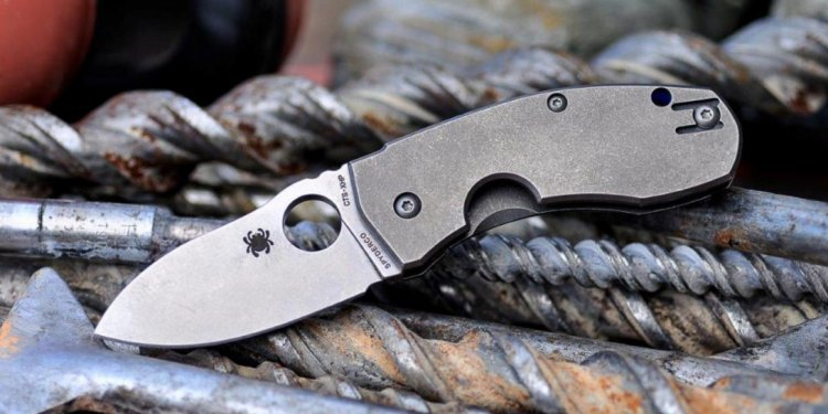 Pocket Knife Spyderco