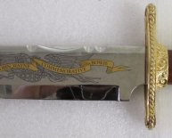 Franklin Mint collectibles Knives