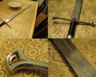 Lord of the Rings weapons Replicas