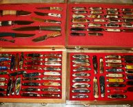 Pocket Knife Cases Displays