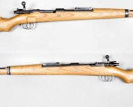 World War Two rifles