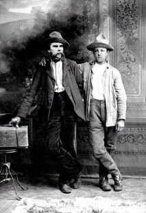 Verlaine, left, and Rimbaud, right. (Photo: Twitter)