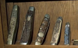 vintage pocketknife collection