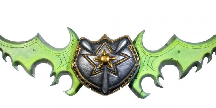 Real World of Warcraft weapons